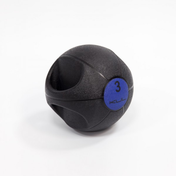 Balon Doble Agarre Kul Fitness