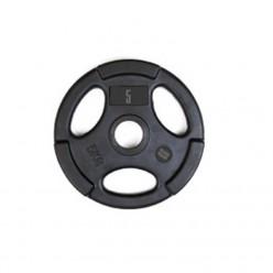 Disco Olímpico de Goma Mets Fitness PF-9100-05 5kg