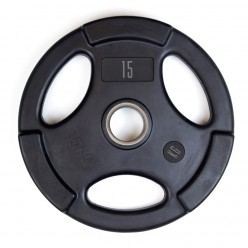 Disco Olímpico de Goma Basic Line PF-9100-10 10kg