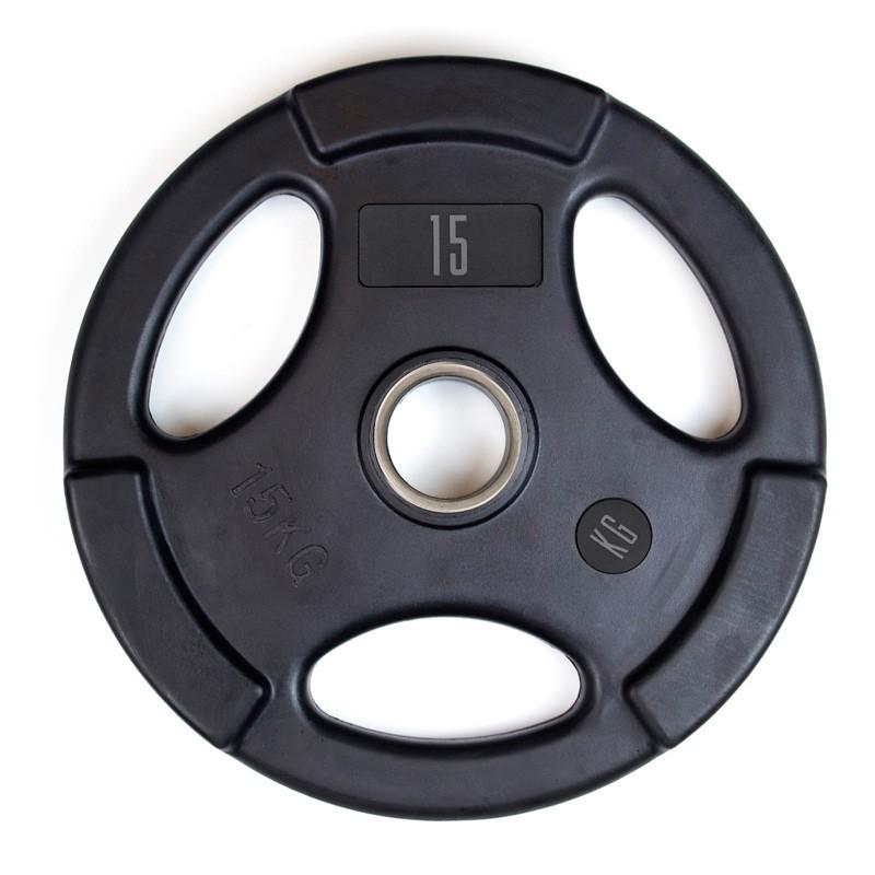 Disco Olímpico de Goma Mets Fitness PF-9100-15 15kg