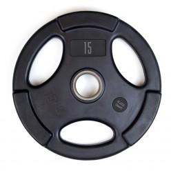 Disco Olímpico de Goma Mets Fitness PF-9100-2.5 2.5kg
