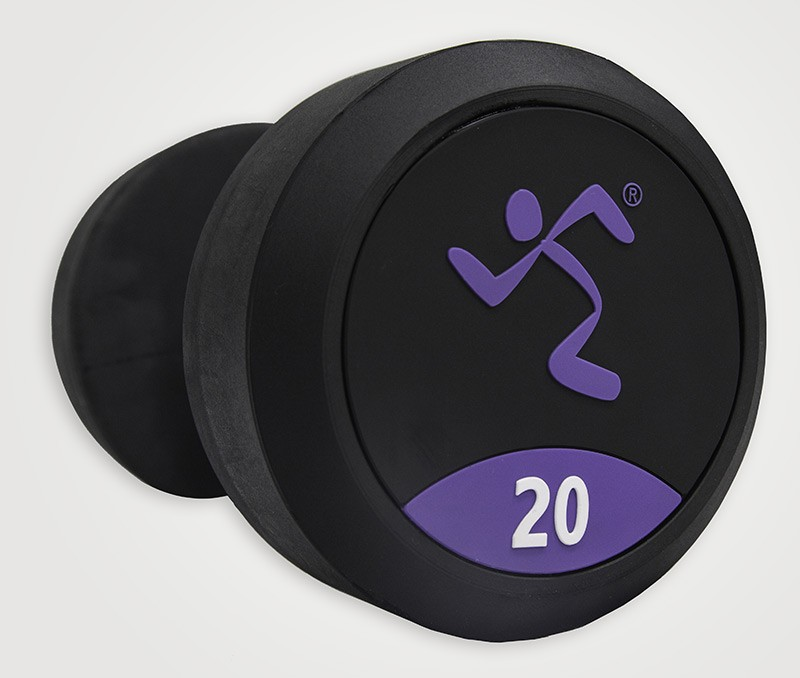Mancuernas de Goma Anytime Fitness AF-1000-50 50kg,