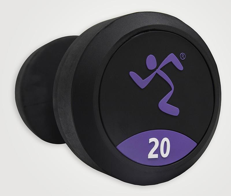 Mancuernas de Goma Anytime Fitness AF-1000-45 45kg,