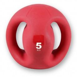 Balón Medicinal con Agarre Fitness Deluxe VAR050 6 Kgs
