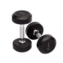 Mancuernas de Goma Mets Fitness PF-9000-05 5kg Par