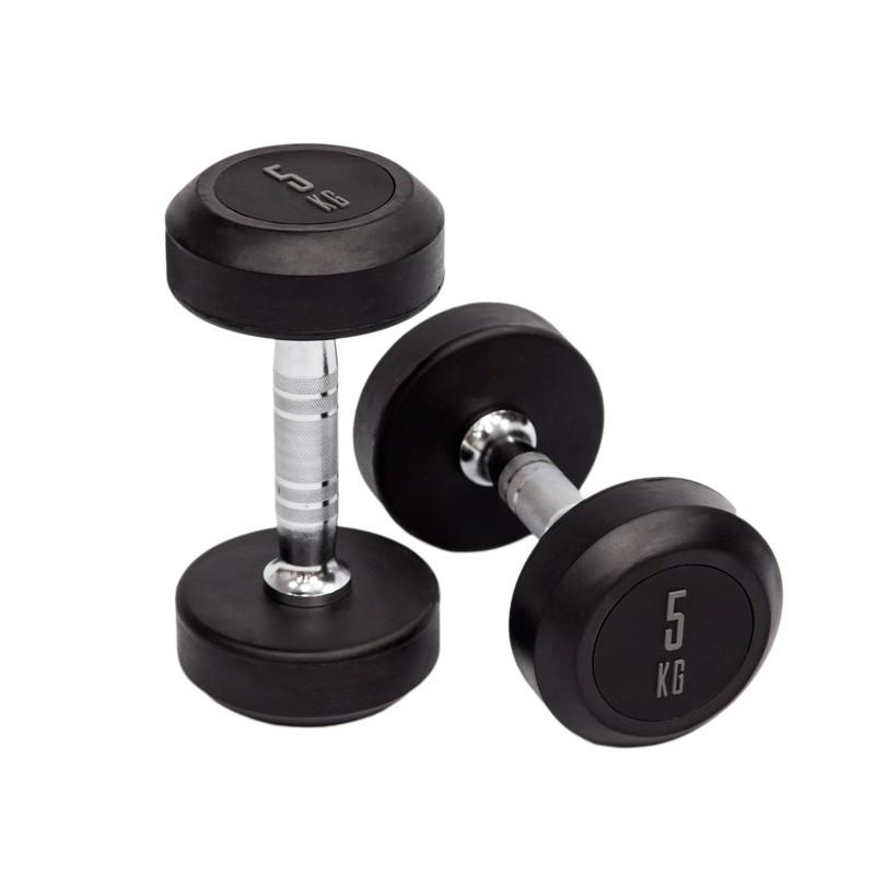 Mancuernas de Goma Mets Fitness PF-9000-40 40kg Par