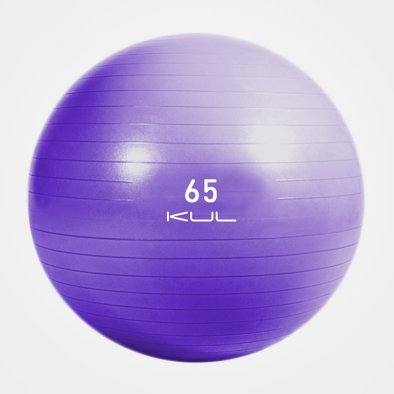 Gym Ball Kul Fitness 5202-65 65cm Morado