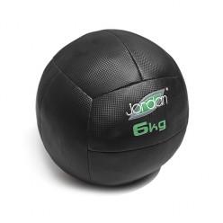 Wall Ball Jordan Fitness JLOMB-06 6kg Negro y Verde