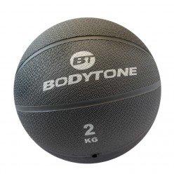 Balón Medicinal Bodytone MB2 2kg Gris