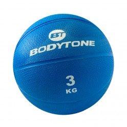 Balón Medicinal Bodytone MB3 3kg Azul
