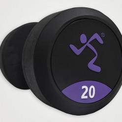 Mancuernas de Goma Anytime Fitness AF-1000-10 10kg,