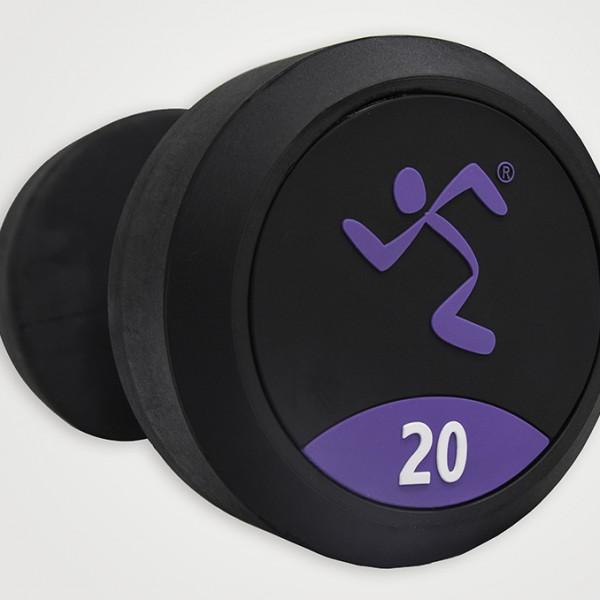Mancuernas de Goma Anytime Fitness AF-1000-20 20kg