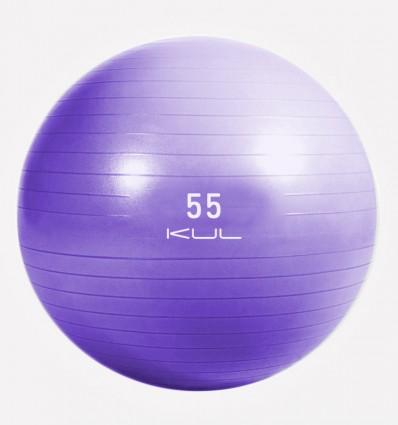 Gym Ball Kul Fitness 5202-55 55cm Morado