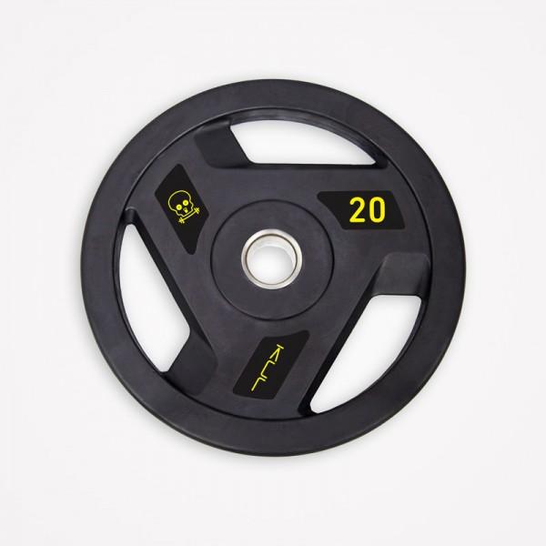 Disco Olímpico de Goma Kul Fitness 1101-20 20kg