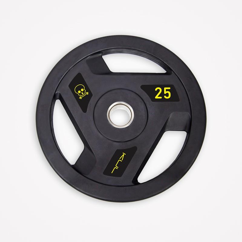 Disco Olímpico de Goma Kul Fitness 1101-25 25kg