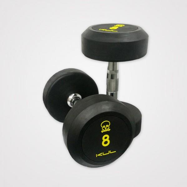 Mancuernas de Goma Kul Fitness 1002-30 30kg Par