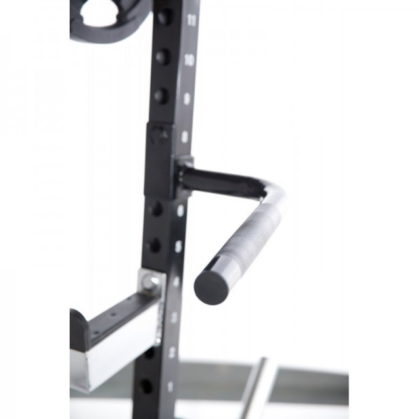 Barras Fondo Half Rack Powertec Dip Handle Bar WB-HR16-DBA