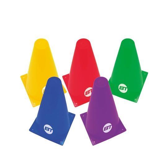 Set de 5 Conos Bodytone C18 18cm Varios Colores