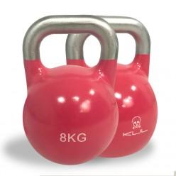 Kettlebell de Competición Kul Fitness 2011-08 8kg Rosa