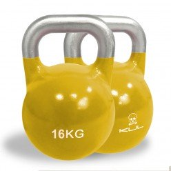 Kettlebell de Competición Kul Fitness 2011-16 16kg Amarillo