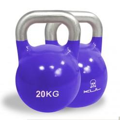 Kettlebell de Competición Kul Fitness 2011-20 20kg Morado