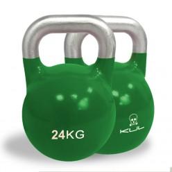 Kettlebell de Competición Kul Fitness 2011-24 24kg Verde