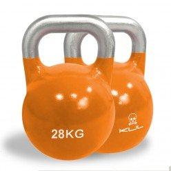 Kettlebell de Competición Kul Fitness 2011-28 28kg Naranja