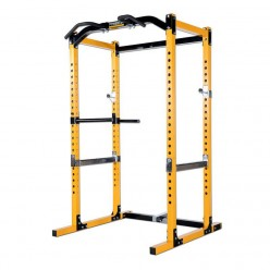 Jaula Powertec Power Rack WB-PR16-Y Amarillo