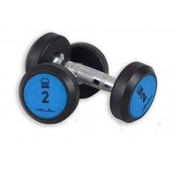 Mancuernas de Goma Kul Fitness 1000-06 6kg Par