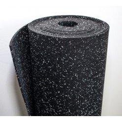 Rollo de suelo de caucho 292-06 1250x10000x6mm moteado (12,5 m²)