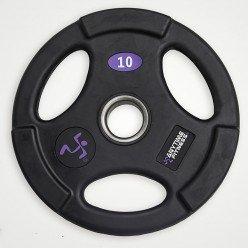 Disco Olimpico Anytime Fitness AF-1100-15 de Goma 15kg,