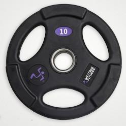 Disco Olimpico Anytime Fitness AF-1100-25 de Goma 25kg,