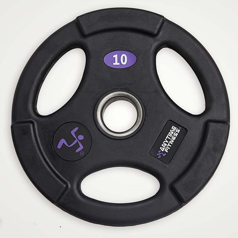 Disco Olimpico Anytime Fitness AF-1100-25 de Goma 25kg