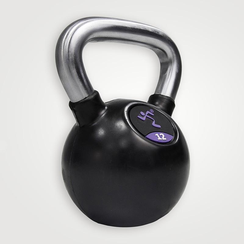 Kettlebell Anytime Fitness AF-2000-04 de Goma 4kg