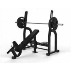 Banco Olímpico Inclinado Jordan Fitness JL-OIB-BLK Negro