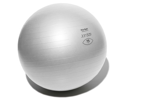 Fitball Jordan Fitness JTCFB75 75cm Silver Outlet