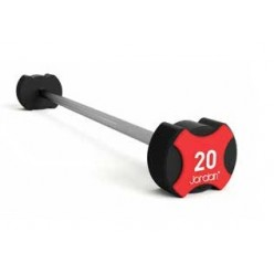 Barra con Peso Jordan Fitness Ignite Uretano JT-IUBS-10 10kg
