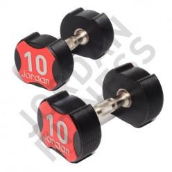 Mancuernas Uretano Jordan Fitness JT-IUD-10 Ignite 25kg Par