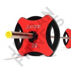 Disco Olímpico Jordan Fitness JT-IUPV2-01 Ignite Uretano 25kg