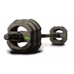 Set de 30 Discos + Rack Jordan Fitness JTSPSR-P1 Ignite de Goma