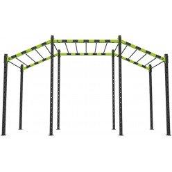 Estructura Crossfit Bodytone M/2 de Subida y Bajada 5m