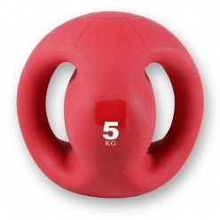 Balón Medicinal con Agarre Fitness Deluxe VAR049 5 Kgs