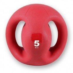 Balón Medicinal con Agarre Fitness Deluxe VAR052 8 Kgs