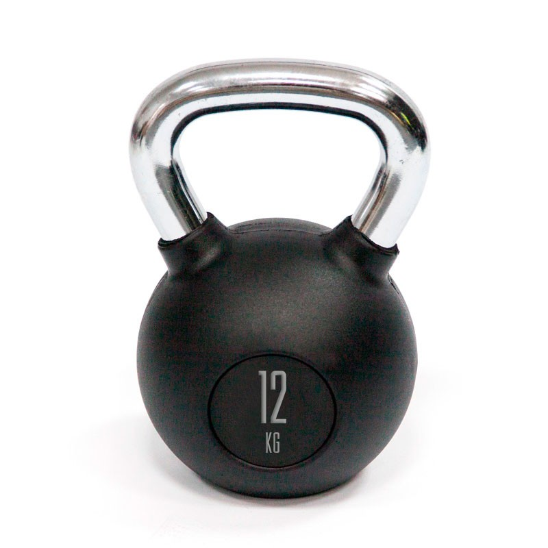 Kettlebell Mets Fitness PF-8000-12 12kg Goma