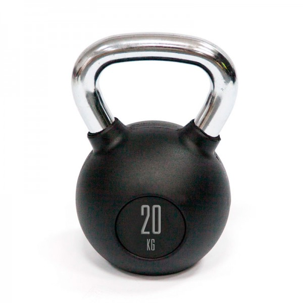 Kettlebell Mets Fitness PF-8000-20 20kg Goma