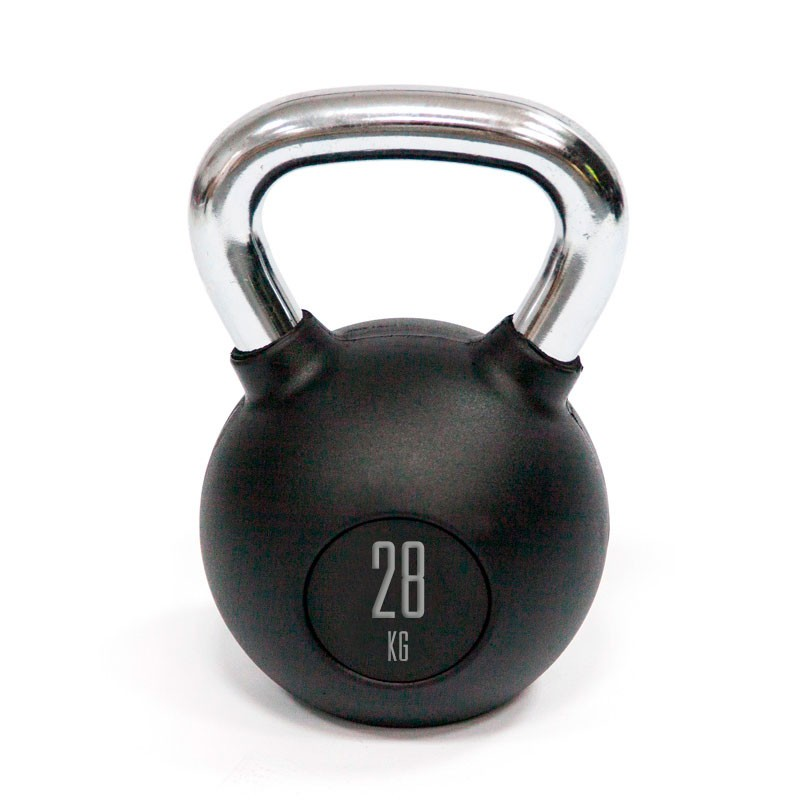 Kettlebell Mets Fitness PF-8000-28 28kg Goma