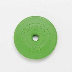Disco de Goma Bodytone 2.5kg 28mm