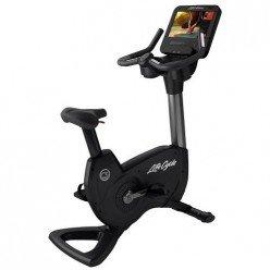 Bicicleta Estática Life Fitness Platinum Club Series Discover SE3HD Titanium Storm