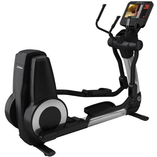 Elíptica Life Fitness Platinum Club Series Discover SE3HD Arctic Silver