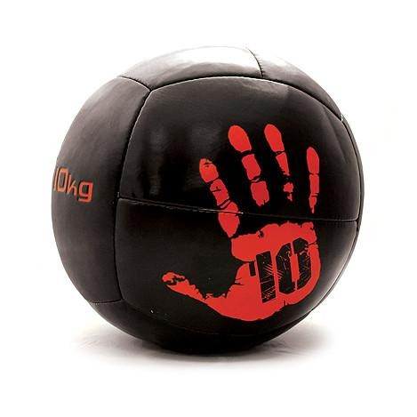 Wall Ball Jordan Fitness JLOMB-10 10kg Negro y Rojo